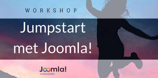 workshop Jumpstart met Joomla!