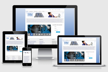 TMX smart telecontrol responsive Joomla website