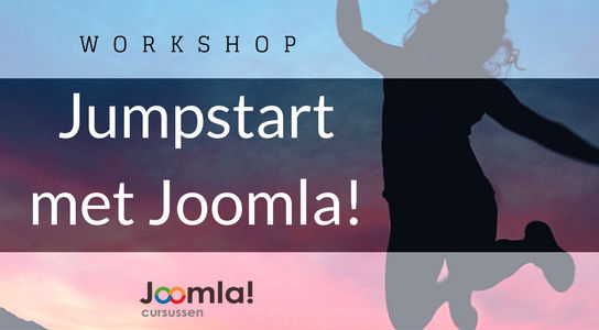 Workshop Jumpstart met Joomla3